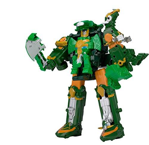 Power Rangers Ninja Steel Dx Rumble Tusk Megazord Action Figure (Power Rangers Dino Super Charge Titano Zord)