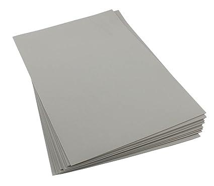 Amazon com: Craft Foam Sheets-12 x 18 Inches - Light Gray - 5 Sheets