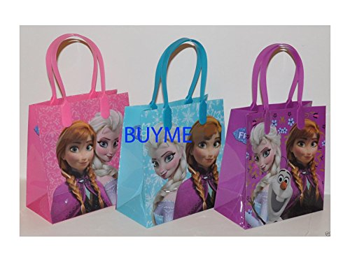 Frozen Characters For Party (Disney Frozen Party Favor Goodie Small Gift Bags)