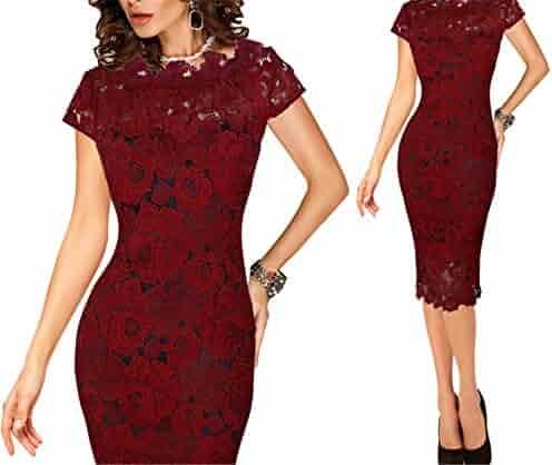 889a2320713 Shopping $50 to $100 - Reds - Knee Length - Dresses - Clothing ...