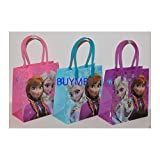 12PCS DISNEY FROZEN CANDY BAGS LOOT/GOODIE PARTY FAVORS GIFTS ELSA ANNA OLAF NEW