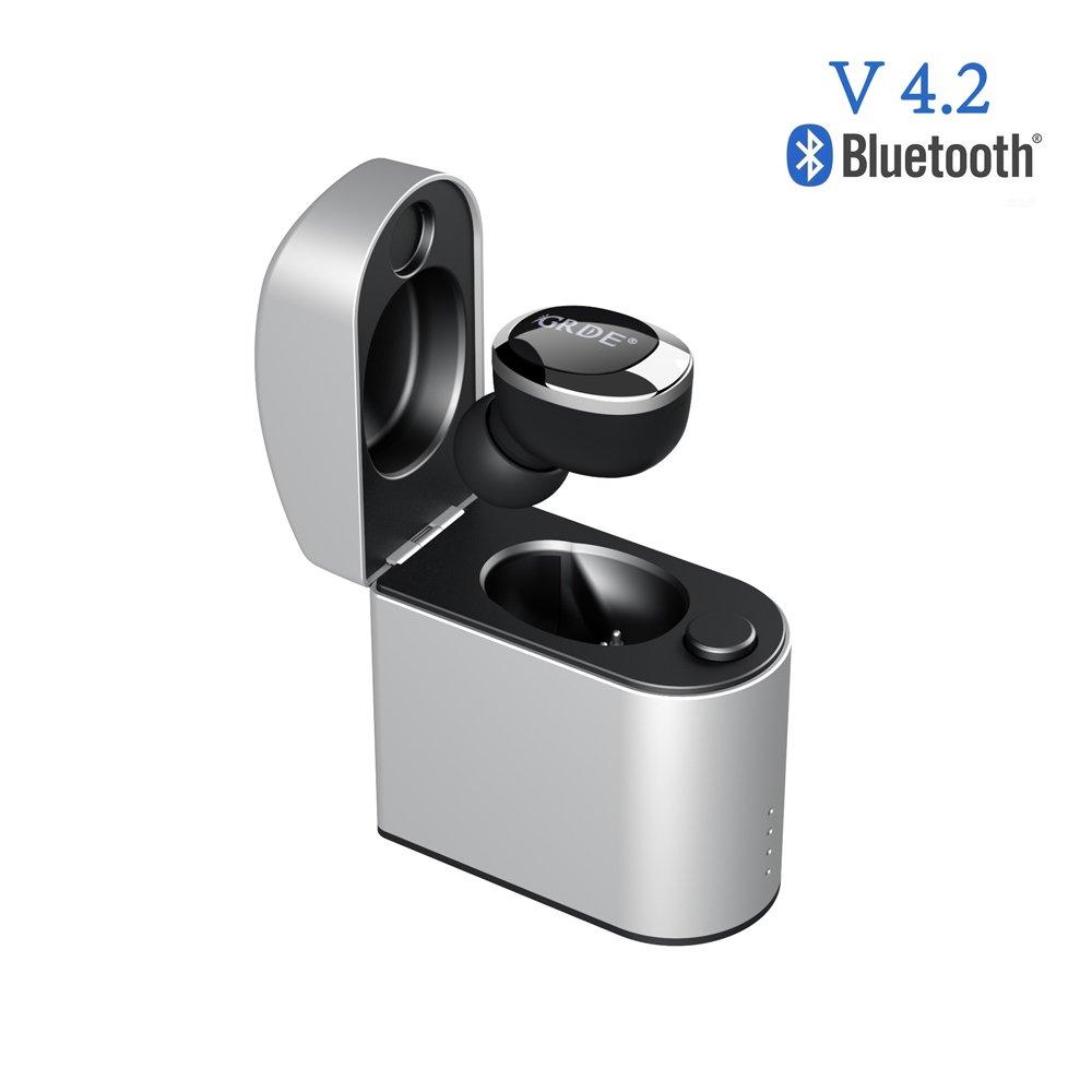 Mini Auricolare Bluetooth 4.2 Wireless con Box di Ricarica Magnetica ... 92cca3ffed01