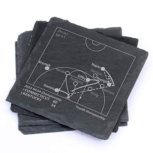 Greatest UConn Plays - Slate Coasters (Set of 4) for sale  Delivered anywhere in USA