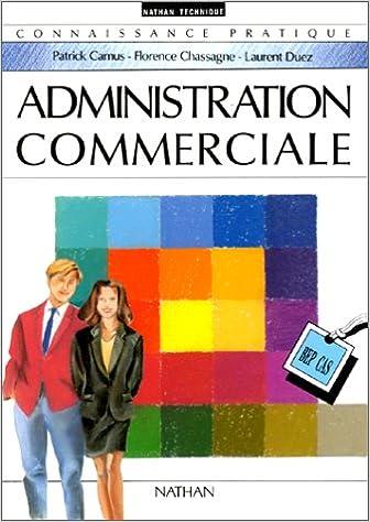 Livres gratuits Administration commerciale BEP pdf, epub