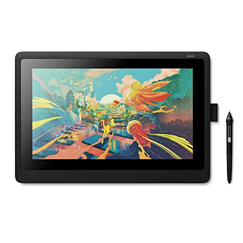 Wacom Cintiq 16 Drawing Tablet with Screen (DTK1660K0A) - High Resolution Pen
