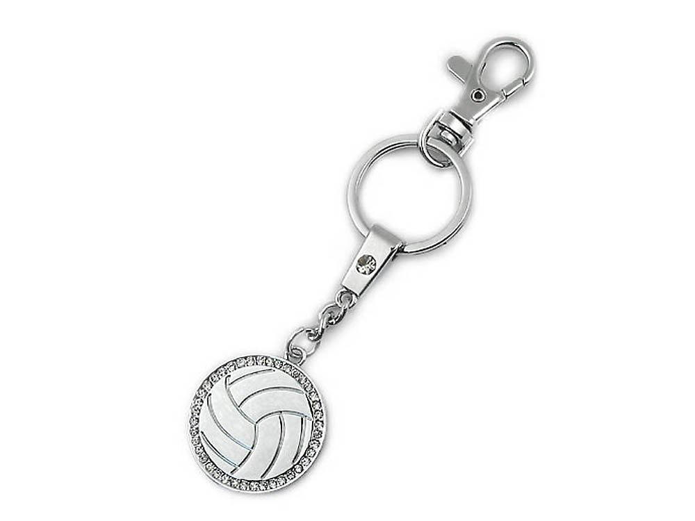 Volleyball Keychain: #1 Top Selling Gift for Volleyball Player, Coach and Team. Why Purchase Another Volleyball Trophy?