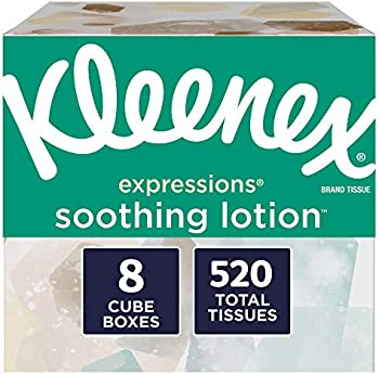 520-Count Kleenex Expressions Soothing Lotion Facial Tissues