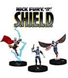 WizKids Marvel HeroClix: Nick Fury Agent Shield Booster Brick