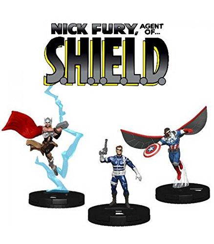 Shield Marvel Heroclix - WizKids Marvel HeroClix: Nick Fury Agent Shield Booster Brick