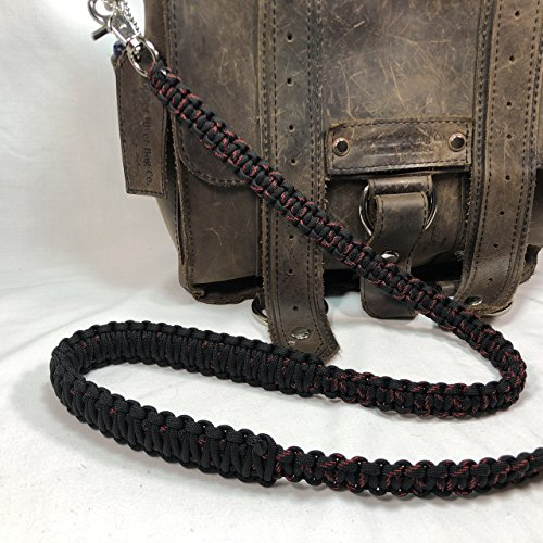 Thin Red Line Paracord Cross Shoulder Strap, Handbag, Satchel Strap, Duffel Bag -