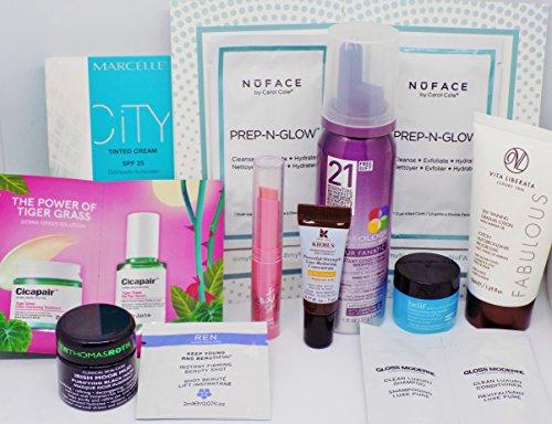 Moisturizing Kiehls Sunscreen (12 Piece Skin, Hair & Face Sampler Bundle)