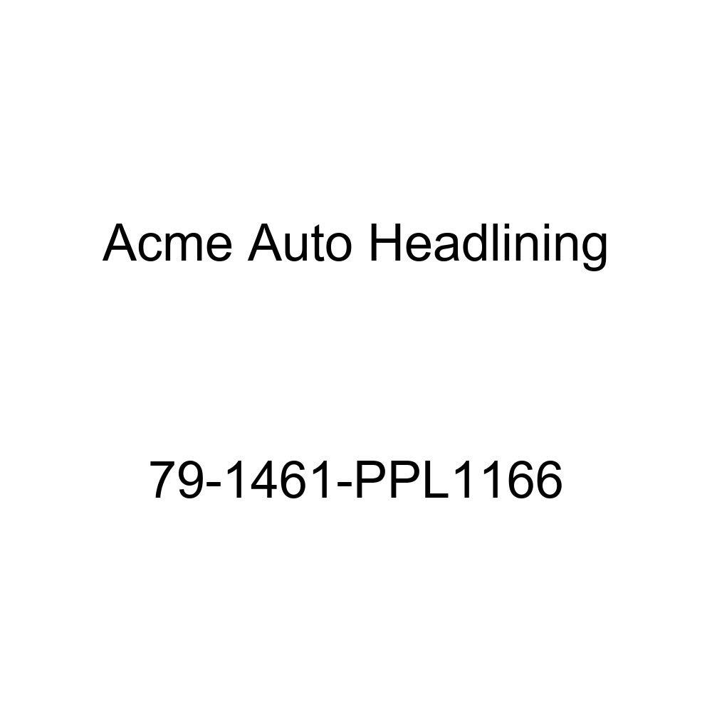 1979 Chevrolet Chevette 2 Door Hatchback 4 Bow Acme Auto Headlining 79-1461-PPL1166 Sandalwood Replacement Headliner