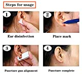 2 Pcs Disposable Sterile Ear Piercing kit, Self