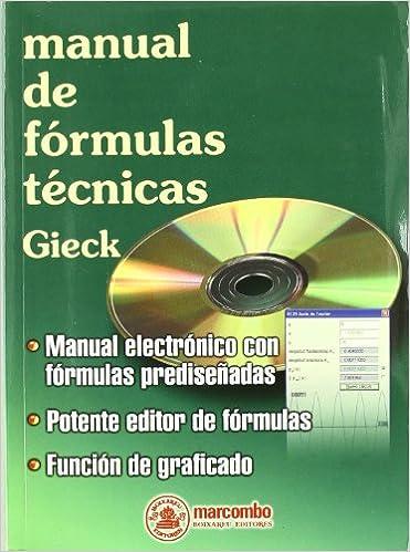 Manual de Formulas Técnicas (+ CD) (ACCESO RÁPIDO)