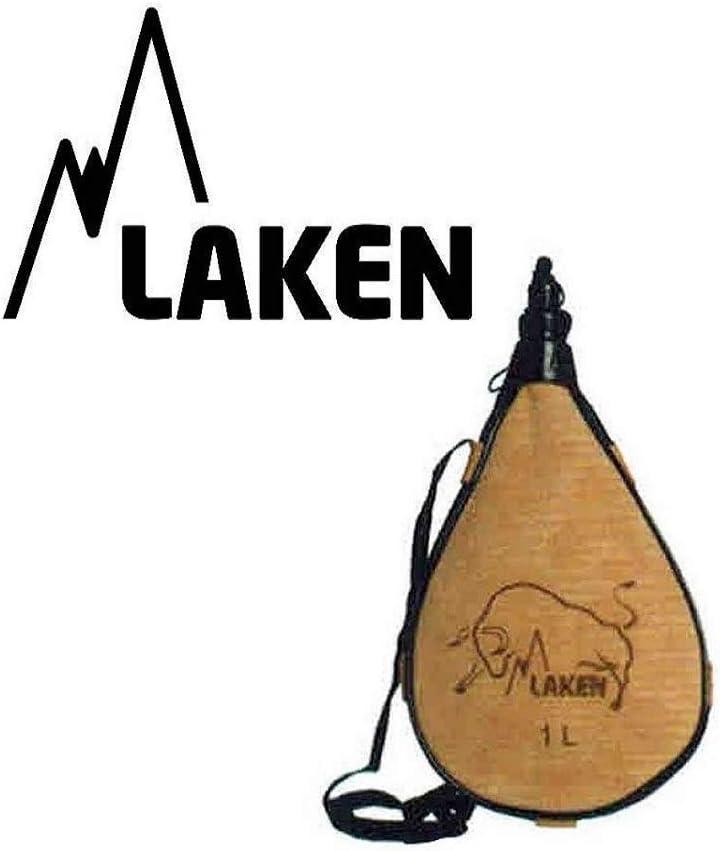 Zepre - Cantimplora Laken Blanda, 1,5 l, Canadiense de Piel Daino