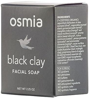 Osmia Organics Black Clay Facial Soap by Osmia Organics