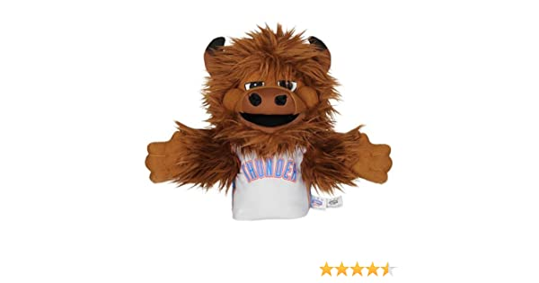 Amazon.com: NBA Oklahoma City Thunder Rumble The Bison Mascot Hand Puppet: Sports & Outdoors