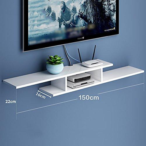 LIANGJUN 壁掛け棚 木製 リビングルーム 背景壁、 使用可能な9種類 ( 色 : 150cm-white-3# ) B07BHNQM4L 22630 150cm-white-3# 150cmwhite3#