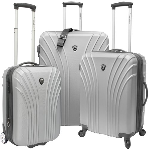 travelers-choice-3-piece-hardsided-ultra-lightweight-luggage-set-one-checked-bag-and-2-carry-ons-sil