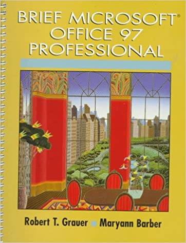 Brief Microsoft Office 97 Professional (Exploring Windows Series)