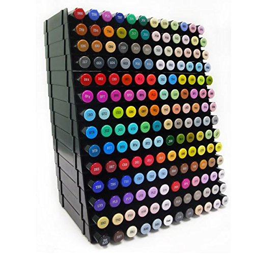 Spectrum Noir Dream Set - All 168 Markers 14 Storage Trays & Video Coloring Guide by Spectrum Noir