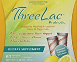 Global Health Trax ThreeLac Probiotic Lemon -- 120 Packets 2 boxes