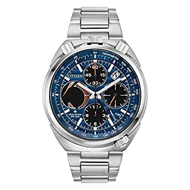 Men's Citizen Promaster Tsuno Chronograph Racer Bracelet Watch AV0070-57L