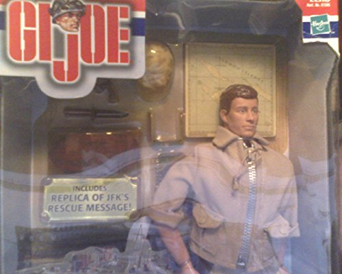 G.I. JOE JOHN F. KENNEDY PT 109 BOAT COMMANDER RESCUE 12 Inch ACTION FIGURE NEW from Unknown