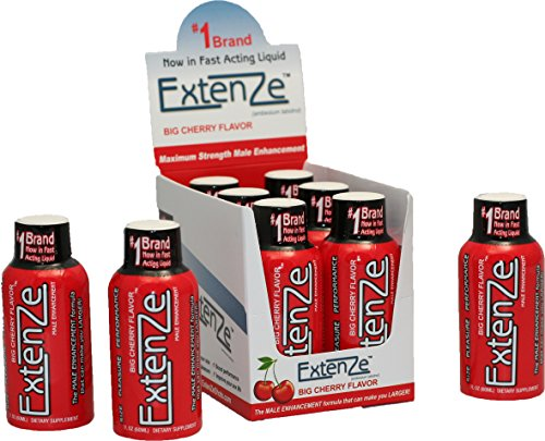 Extenze Cherry Shots 6 Pack  2Oz Shots
