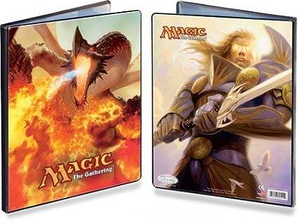 Ultra Pro The Magic the Gathering (MTG) 2011 Core Set Art - Combo Portfolio Album (9 Pocket Trading Card Binder)