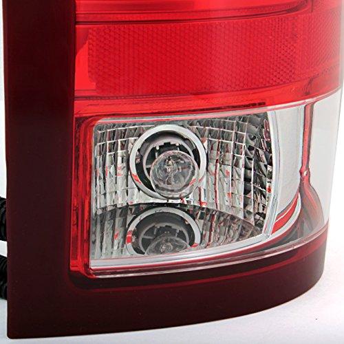 For GMC Sierra Fleet side Pickup Truck Rear Tail Light Tail Lamp Brake Lamp Driver Left Side Replacement