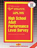 High School APL Survey (APL/HS), Rudman, Jack, 0837369630