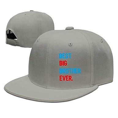 Flat Brim Baseball Hat for Unisex fb768a405