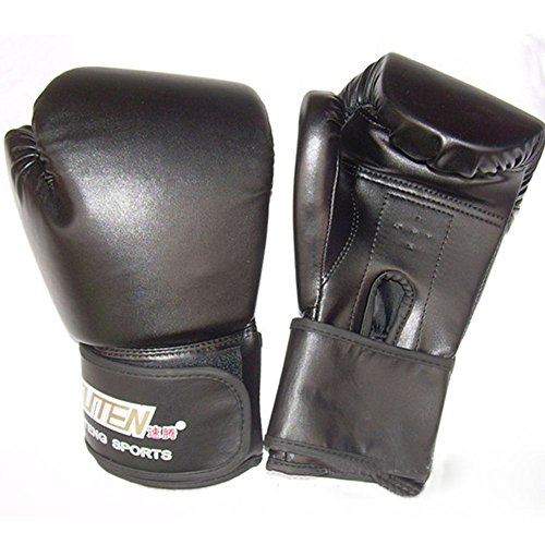 Costume National Riding Boots (Pansupply 1 Pair Black Pro Boxing gloves Muay Thai punch train gym gloves)