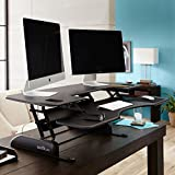 VARIDESK - Height-Adjustable Standing Desk - Pro Plus 48 - Black