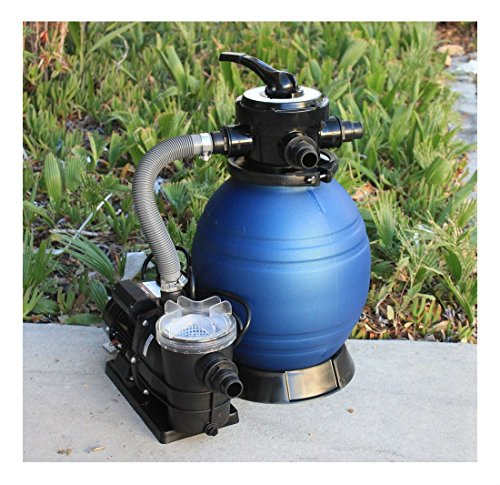 12'' Sand Filter w/Water Pump 2400GPH 4Above Ground Swimming Pool Soft Sid by Unknown