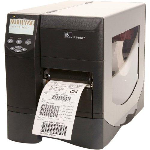 Zebra Rz400 Direct Thermal/Thermal Transfer Printer . Monochrome . Desktop . Rfid Label Print . 4.09
