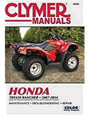 Honda TRX420 Rancher 2007-2014: Does not include information specific to 2014 solid axle models