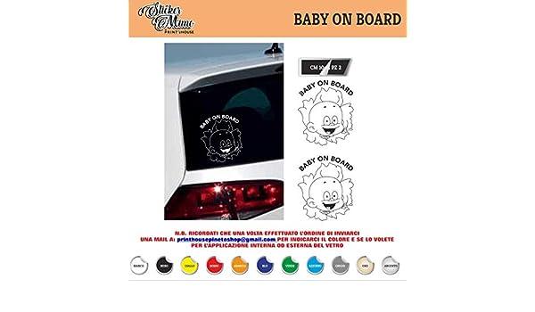 sticker mimo Baby on Board - Adhesivo para Ventana de Coche ...