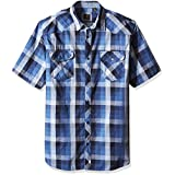 Lee Men's Big and Tall Cleff Shirt, Navy, 5X