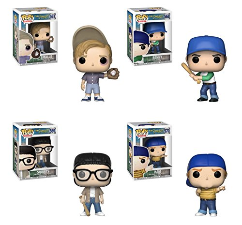 "Funko Pop! Movies: The Sandlot Collectible Vinyl Figures, 3.75"" (Set of 4)"