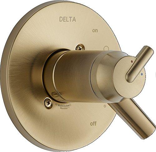 Delta Faucet T17T059-CZ Trinsic Tempassure 17T Series Valve Trim, Champagne Bronze