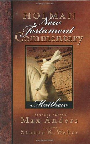 Holman New Testament Commentary - Matthew pdf