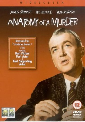 Anatomy Of A Murder Dvd 2001 Amazon James Stewart Lee