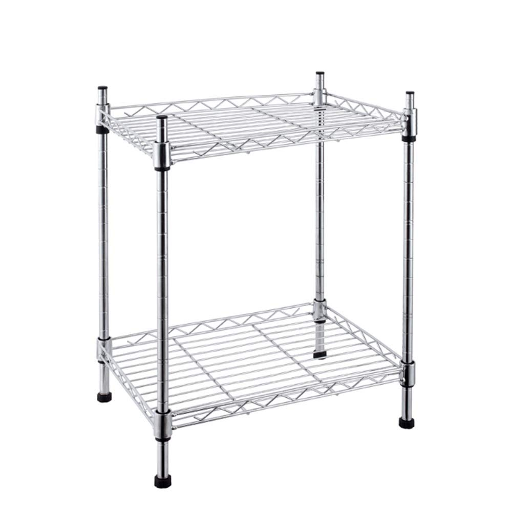 Kitchen shelf HUO Storage Shelf 8030 Floor Storage Rack (Size : 60A)