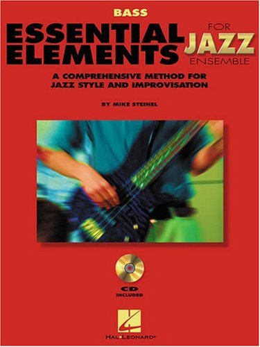 Book Basic Only Guitar Instruction (Essential Elements For Jazz Bass Bk with online media (Instrumental Jazz))