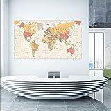 Ega Dünya Siyasi Haritası Duvar Sticker (70X40)
