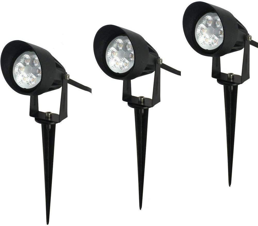 2 Lemonbest Bright Outdoor Landscape LED Lawn Lamp Path Lights 10w with AC Power