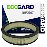 ECOGARD XA831 Premium Engine Air Filter Fits Ford F-250, F-150, Mustang, F-350, F-100, Bronco, Torino / Mercury Cougar / Ford LTD, E-150 Econoline / Lincoln Mark III / Ford E-350 Econoline