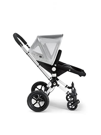 Bugaboo Frog Canvas Breezy Sun Canopy - Silver  sc 1 st  Amazon.com & Amazon.com: Bugaboo Frog Canvas Breezy Sun Canopy - Silver: Baby